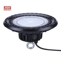 UFO Highbay Lights MW 5-Years 200W 150W 100W AC100-277V PF0.95 120LM / W يعني حسنا مصابيح LED الصناعية للماء IP65 المباشر Shenzhen China