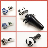 New Animal tobacco pipe hand pipe glass 4 inch smoking pipes...