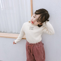 2019 New Arrival Winter korean style pure color letters prin...