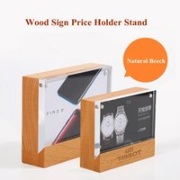 100*70mm magnetic advertising tag sign card display stand wo...