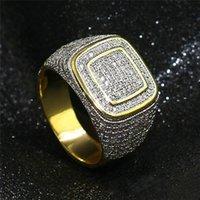 Silber Schmuck Multi-Farben-Kristall Zircon Silber Schmuck Großhandel Einzelhandel Ring für Männer Frauen Größe 6-10