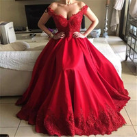 Gorgeous Prom Dresses 2020 robe de soiree Off The Shoulder A...