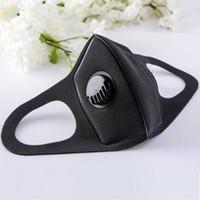 무료 DHL 디자이너 얼굴 안티 오염 방지 먼지 개별 포장 마스크 밸브 세척 재사용 얼굴 스폰지 마스크 마스크