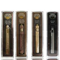 Латунные костяшки Vape аккумулятор 650mAh 900mah золотой древесина os o ручка предварительно нагревая переменная аккумулятор с зарядом USB