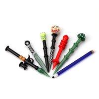 Neues Glas Blasen-Kappe Bleistift Pilzmesser Dabber Stock-carb Kappe für Glas Bohrinsel bong Rauch Zubehör Wasserrohr