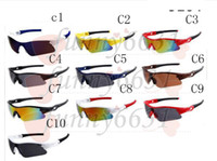 summer newest style Bicycle Glass Only glasses 10 colors sun...
