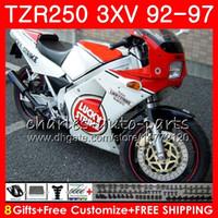 Cuerpo para YAMAHA TZR-250 3XV TZR250 92 93 94 95 96 97 119. 119HM.25 Lucky Strike TZR250RR RS YPVS TZR 250 1992 1993 1994 1995 1996 1997 Fairing
