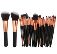 MAANGE spazzole di trucco Set 22 pc professionale dell'ombretto fondamento della polvere contorno labbra pennello Cosmetici multiuso compone le spazzole Kit