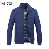Outerwear Windbreaker Jacket men Spring Coats Slim Fit Tops ...