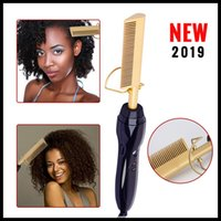 1PC Electric Hair Curler Comb Wet and Dry Use Hair Curling I...