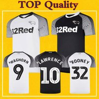 2020 Derby County Soccer Jerseys ROONEY MARRIOTT LAWRENCE WA...