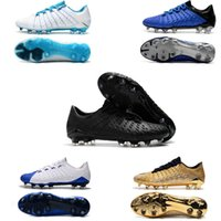 Chaussures de football 3D Crampons de football Hypervenom Phantom III DF FG Chaussures de football Outdoor Hypervenom ACC chaussettes basses chaussures de football
