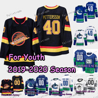 Youth Kids Vancouver Canucks Elias Pettersson Bo Horvat Broc...