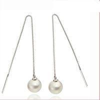 Inci Küpe Kızlar için Sıcak Satış Gümüş Damla Dangle Küpe Düğün Parti Için Moda Takı Toptan Ücretsiz Kargo 0062WH