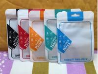 10.5 * 15cm Kopfhörer-Kleinpaket Box Zip-Verpackungs-Beutel-Reißverschluss-PVC OPP Paket-Beutel für Kopfhörer-Kopfhörer