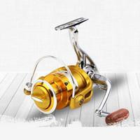 Metal Spinning Mulinello 12 + 1BB Pesce rotella BE1000-7000 salata Carretilha Pesca Attrezzatura di pesca