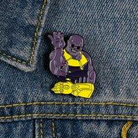 Новички фильмов Брошь и булавки Джинсовая одежда Pin рубашка значок сказочный рассказ ювелирных изделий подарок для друзей детей