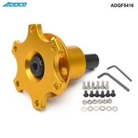 ADDCO Car Off - Quick Boss Kit Weld on 6 Bolt Fit Moslty Steering Wheels ADQF5416