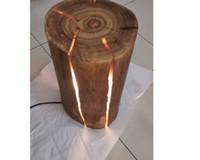 LED zemin lambası, ahşap masa lambası sehpa köşe fabrika toptan stok hızlı yılbaşı için yaratıcı hediye fikri gemi