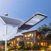 100W 200W 300W luce stradale a LED a LED Luce di inondazione Luce solare Lampada a LED impermeabile SMD5730 parcheggio lampada solare