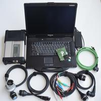 Super MB ستار C5 SD Conenct مع كمبيوتر محمول CF52 ToughtBook PC مع نجمة MB C5 أحدث Soft-Ware V2021.03 HDD ل SD C5