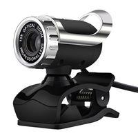USB Web Camera 0.3 MP Web Camera 360 градусов поворотный с микрофоном клип-на веб-камеру для Skype компьютер ноутбук ноутбук ПК новый