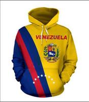 Mens Designer Hoodies für Frauen Männer Paare Sweatshirt Lovers 3D Venezuela Voll Hoodies Coats Hoodies Tees Kleidung RR050