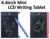 TOP Лучший 4,4-дюймовый мини LCD дощечку граффити графический планшет для разливочных Детские цифровые Handwritting колодки с OPP Bag