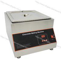 12kg Tek Pot Paslanmaz Çelik Ticari Kullanım 110v 220v Elektrik Dijital Kuru Isı Çikolata Melter Erime Makinası