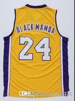 Özel Erkekler Gençlik Kolej basketbol Jersey Boyut S-4XL b kadınlar k dışarı Vintage mamba veya özel herhangi bir ad veya numara forması