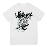 Blink 182 Double Bunny White Tee