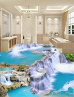 3D Wallpaper The Paradise Waterfall In The World 3D Wallpaper Camera da letto murale pavimento