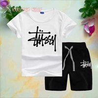STSY Little Kids Sets 1- 7T Kids T- shirt And Short Pants 2Pcs...