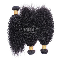 Malaysian Virgin Cabelo Kinky Curly 3 Pacotes Lot Top Quality Cabelo Humano Weave Kinky Curly extensões do cabelo Virgin
