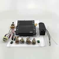 Chitarra elettrica pickup EMG Humbucker pickup attivo 9V attivo alimentazione a batteria con 25K potenziometro