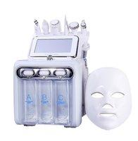 초음파 피부 RF 히드라 깊은 얼굴 모공 청소 얼굴 마사지 기계 DHL UPS 운송 1 관리 도구에서 작은 거품 (7)