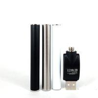 Retail TH205 Atomizador M3 Bateria automática Buttonless 350mAh Battery 510 Tópico Vape Cartucho de óleo vaporizador bateria com carregador USB