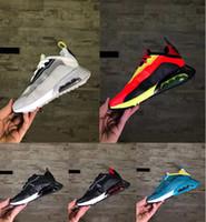 Новая бесплатная доставка Детей 2090 кроссовок Девушки Парни Подушки обувь досуг обувь Детская тапок 2020 Green Black Big Kids 2090 Прохождения