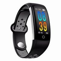 الأكسجين Q6 للياقة البدنية المقتفي الذكية سوار HR ضغط الدم مراقب الذكية ووتش الدم ماء IP68 الذكية ساعة اليد للحصول على الروبوت دائرة الرقابة الداخلية فون