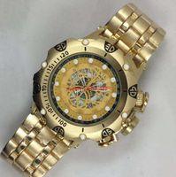 ساعة فاخرة فاخرة للرجال من فيتشيتا مهرج، ساعة كرونوغراف Glow-in-the-dark هي ساعة مبيعة عن أفضل جودة