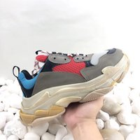 7colors Retro Luxury Womens Mens Sneaker Scarpe casual Mesh scarpe da ginnastica per Old Dad Triple S Partito Scarpe trendy Lifestyle Lifestyle Skateboarding