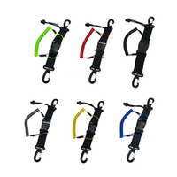 New Diving Coil Lanyard Diving Lanyard With Dual Clips Quick...