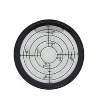 HACCURY معدنية كبيرة العالمي دائرية من الزجاج الأفقي مستوى فقاعة دقة 5mm/م 10 مم/م