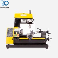 CT125 Mini Lathe Drilling And Milling Machine Mini Lathe Tool Teaching Machine Multi-tool Lathe Machine 220V 1PC