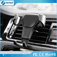 Gravity Car Holder For Phone in Car Air Vent Clip Mount No M...