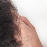 13x4 HD кружева лобное закрытие швейцарские невидимые необработанные человеческие волосы прямые кузова вьющиеся вьющиеся глубокий стиль