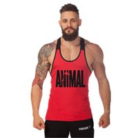 2017 New Print Animal Letter Gyms Mens Tank Tops Sleeveless ...