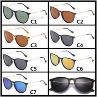 موضة جديدة 4171 العدسات المستقطبة النظارات الشمسية الكلاسيكية الرجعية الرجال النظارات الشمسية النظارات نظارات شمسية UV400 7 خيارات الألوان