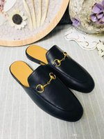 Women Genuine Leather Horsebit loafer, Designers Flats Mules...