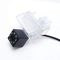 Caméra voiture Vue arrière de sauvegarde caméra de stationnement arrière avec LED pour Toyota Vios / Yaris Sedan (XP150) 2013-présent